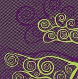 Fond décoratif abstrait Images libres de droits