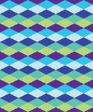Fond décoratif coloré sans couture avec des formes géométriques Photos libres de droits