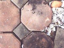 Fond décoratif concret Décorez la maison images stock
