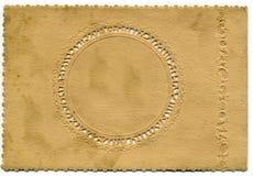 Fond décoratif de carte de cru photo libre de droits