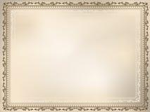 Fond décoratif de cru illustration stock