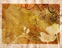 Fond décoratif de cru Photo libre de droits