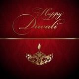 Fond décoratif de diwali Images libres de droits