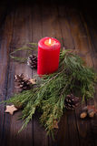 Fond décoratif de Noël Photo stock