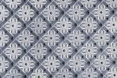 Fond décoratif en métal Image stock