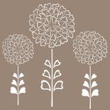 Fond décoratif floral Photo libre de droits