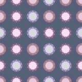 Fond décoratif géométrique abstrait sans couture Images stock