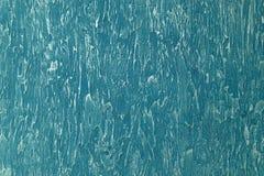 Fond décoratif grunge abstrait de mur de plâtre de turquoise Texture ou image stylisée approximative de place avec l'espace pour  image libre de droits