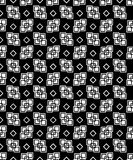 Fond décoratif noir et blanc sans couture avec des formes géométriques Photo stock
