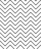 Fond décoratif noir et blanc sans couture avec des formes géométriques Photos libres de droits