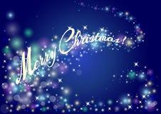 Fond décoratif pour une carte de voeux de Joyeux Noël avec s illustration de vecteur