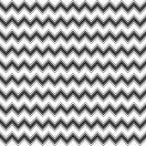 Fond décoratif sans couture avec avec des lignes de zigzag Photo libre de droits