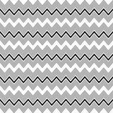 Fond décoratif sans couture avec avec des lignes de zigzag Photographie stock libre de droits