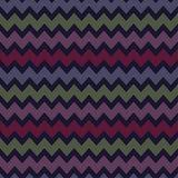 Fond décoratif sans couture avec avec des lignes de zigzag Images libres de droits