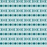 Fond décoratif sans couture avec des formes géométriques Photo stock