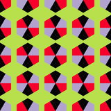 Fond décoratif sans couture avec des formes géométriques Photos libres de droits