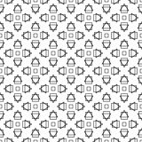 Fond décoratif sans couture avec les chiffres abstraits Image stock
