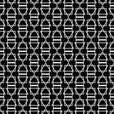 Fond décoratif sans couture avec les chiffres abstraits Images libres de droits