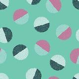 Fond décoratif sans joint impression Conception de tissu, papier peint Image stock