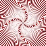 Fond déformé par illusion de tourbillon de conception illustration stock