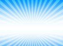 Fond d'éclat pour la présentation avec la couleur bleue Image stock