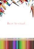 Fond d'école Image stock