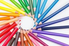Fond d'école, art de créativité Apprenant à dessiner un concept, images stock