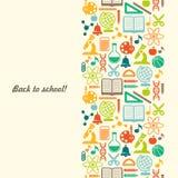 Fond d'écoliers avec l'endroit pour le texte Photographie stock libre de droits