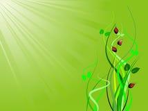 Fond d'écologie Image libre de droits