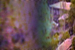 Fond d'écran coloré par arc-en-ciel de LED Photos libres de droits
