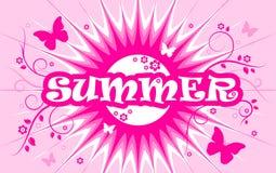 Fond d'été Photo stock