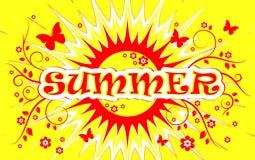 Fond d'été Images stock