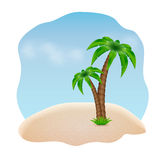 Fond d'été Photo libre de droits