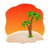 Fond d'été Image libre de droits