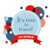 Fond d'été avec le texte Photos libres de droits