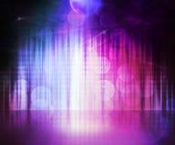 Fond d'étape abstrait violet Images stock