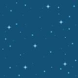 Fond d'étoile de pixel Images libres de droits
