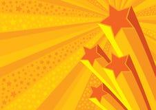 Fond d'étoiles Image stock