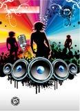 Fond d'événement de musique Image libre de droits