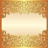 Fond d'or Image libre de droits