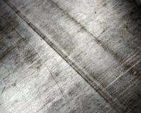 Fond d'abrégé sur en métal de bidon de feuille Photographie stock libre de droits