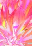 Fond d'abrégé sur herbe de feuilles de rouge et de rose Image libre de droits