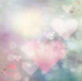 Fond d'abrégé sur jour de Valentines Photos stock