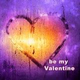 Fond d'abrégé sur jour du ` s de Valentine L'inscription sur le swea Photo libre de droits