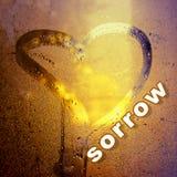 Fond d'abrégé sur jour du ` s de Valentine L'inscription sur le swea Photographie stock