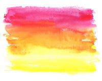 Fond d'abrégé sur tache d'aquarelle Image stock