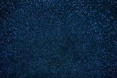Fond d'abrégé sur texture de scintillement de bleu marine Images stock