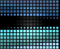 Fond d'abrégé sur vert bleu Image libre de droits