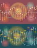 Fond d'abrégé sur volume de musique de vecteur Illustration Stock