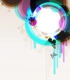 Fond d'Abstractcontemporary. Image libre de droits